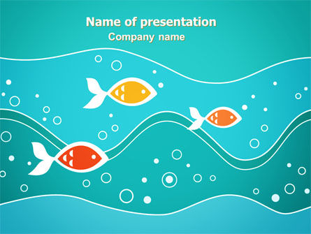 Fish Theme PowerPoint Template