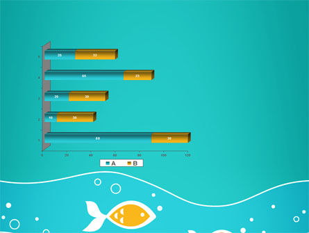 Fish Theme PowerPoint Template Slide 11