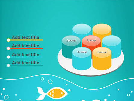 Fish Theme PowerPoint Template Slide 12