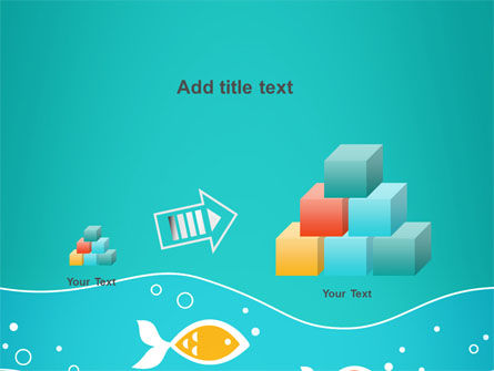 Fish Theme PowerPoint Template Slide 13