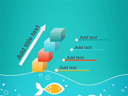 Fish Theme PowerPoint Template Slide 14