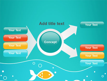 Fish Theme PowerPoint Template Slide 15