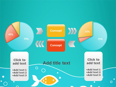 Fish Theme PowerPoint Template Slide 16