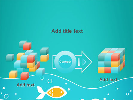 Fish Theme PowerPoint Template Slide 17