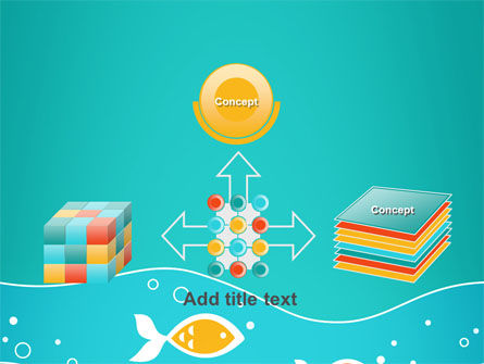Fish Theme PowerPoint Template Slide 19