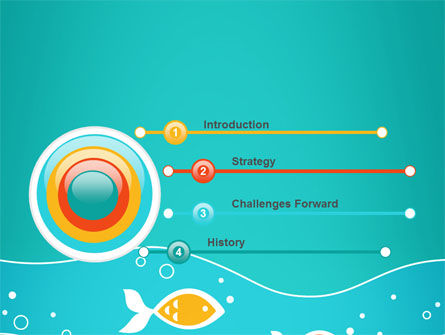Fish Theme PowerPoint Template Slide 3