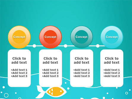 Fish Theme PowerPoint Template Slide 5