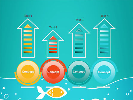 Fish Theme PowerPoint Template Slide 7