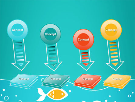 Fish Theme PowerPoint Template Slide 8