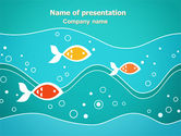 Education & Training: Fish Theme PowerPoint Template #07349
