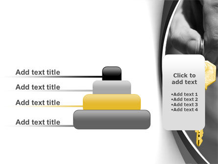 Gold Key PowerPoint Template Slide 8