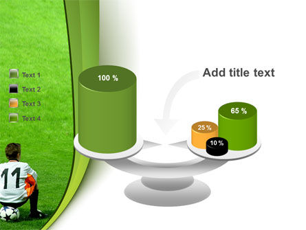 Little Football Player PowerPoint Template Slide 10