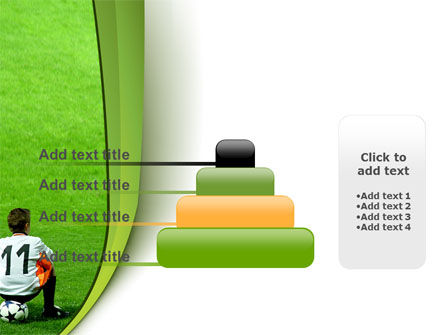 Little Football Player PowerPoint Template Slide 8