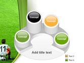 Little Football Player PowerPoint Template#12