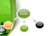 Little Football Player PowerPoint Template#4