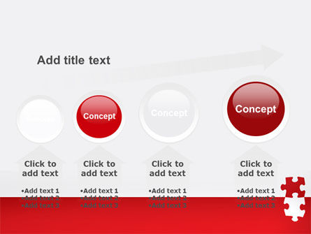 Red Jigsaw Pieces PowerPoint Template Slide 13