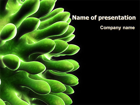 Virus Green PowerPoint Template