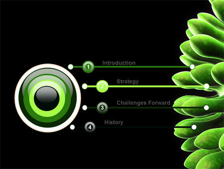Virus Green PowerPoint Template Slide 3