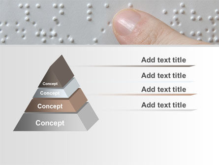 Braille Book PowerPoint Template Slide 12