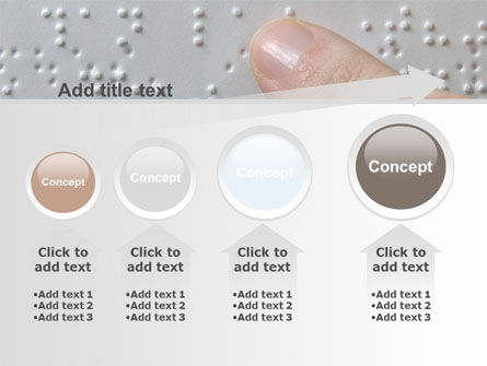 Braille Book PowerPoint Template Slide 13