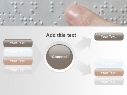 Braille Book PowerPoint Template Slide 14
