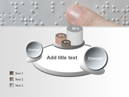 Braille Book PowerPoint Template Slide 16