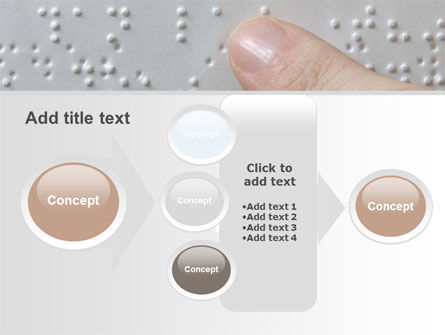 Braille Book PowerPoint Template Slide 17