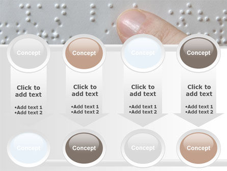 Braille Book PowerPoint Template Slide 18