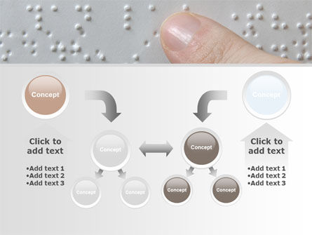 Braille Book PowerPoint Template Slide 19