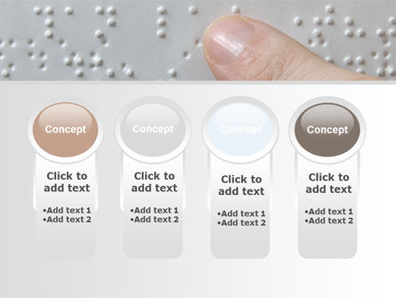 Braille Book PowerPoint Template Slide 5