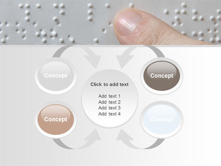 Braille Book PowerPoint Template Slide 6