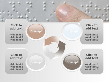 Braille Book PowerPoint Template Slide 9