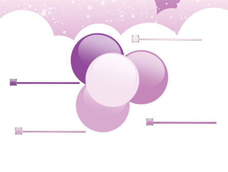 Lilac Clouds PowerPoint Template Slide 10