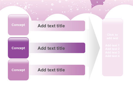 Lilac Clouds PowerPoint Template Slide 12