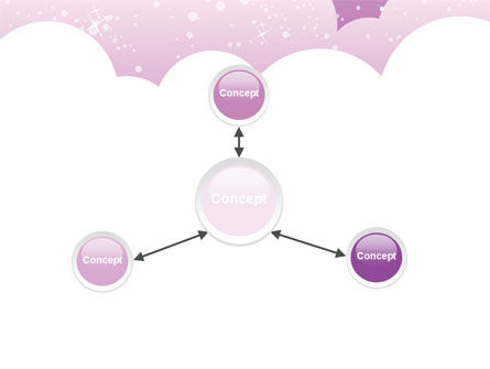 Lilac Clouds PowerPoint Template Slide 14