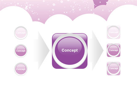 Lilac Clouds PowerPoint Template Slide 17