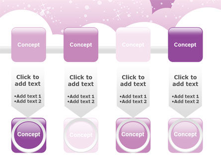 Lilac Clouds PowerPoint Template Slide 18