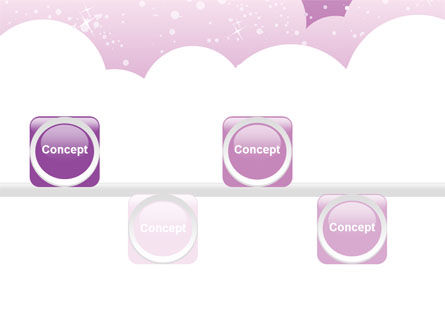 Lilac Clouds PowerPoint Template Slide 19