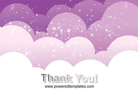 Lilac Clouds PowerPoint Template Slide 20