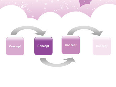 Lilac Clouds PowerPoint Template Slide 4