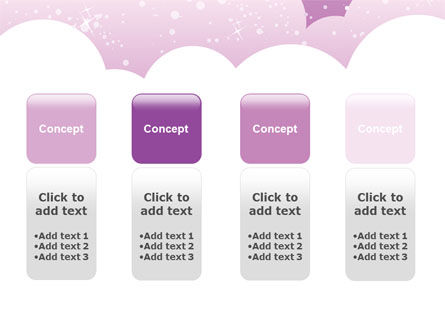 Lilac Clouds PowerPoint Template Slide 5