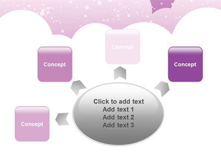 Lilac Clouds PowerPoint Template Slide 7