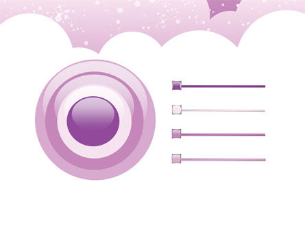 Lilac Clouds PowerPoint Template Slide 9