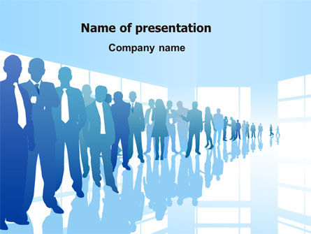 Business Recruitment PowerPoint Template, 07361, Business — PoweredTemplate.com