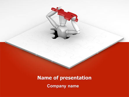 Free Getting Out PowerPoint Template