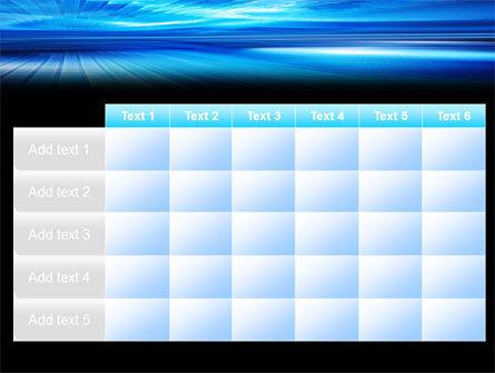 Deep Blue Horizon PowerPoint Template Slide 15