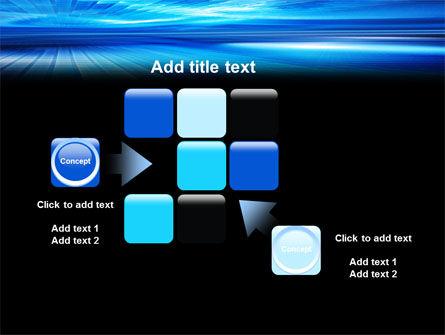 Deep Blue Horizon PowerPoint Template Slide 16