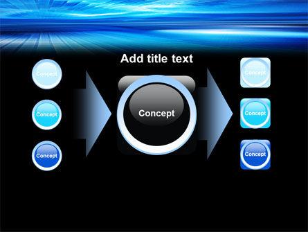 Deep Blue Horizon PowerPoint Template Slide 17