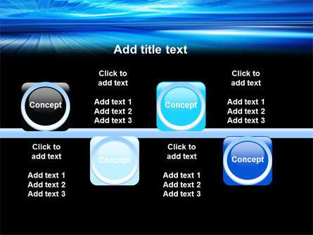 Deep Blue Horizon PowerPoint Template Slide 19