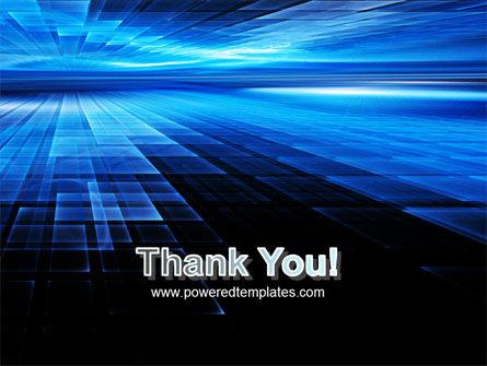 Deep Blue Horizon PowerPoint Template Slide 20